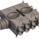 Universal-Verteilerbox mit 16 Anschl. DN 75