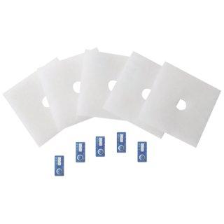 Ersatzfilter mit Timestrips für ZF 60/100 ( 5 Stück)