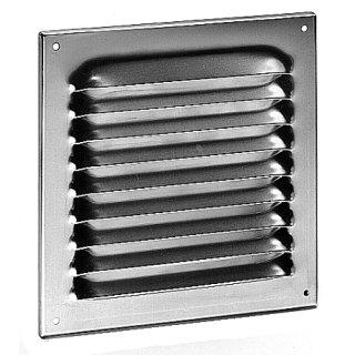 Wetterschutzgitter Alu 10x10, weiß